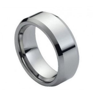 Other - Flat tungsten silver band