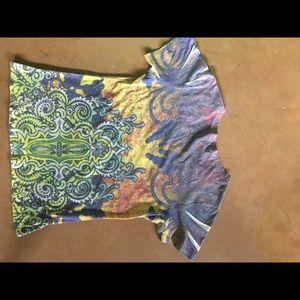 spy exchange Tops - Embroidered Spy Exchange T-shirt w/stones!