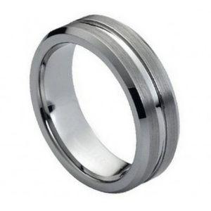 Other - 7mm wide tungsten wedding band
