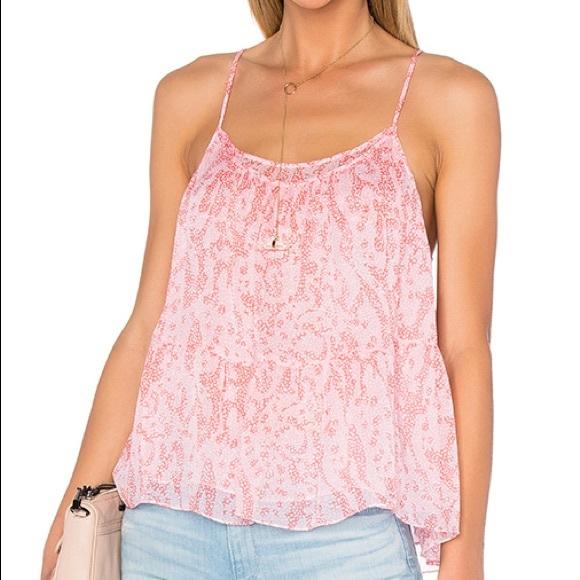 5fc1460666670 DVF Sarasa Coral Baylee Pink Silk Tank Top