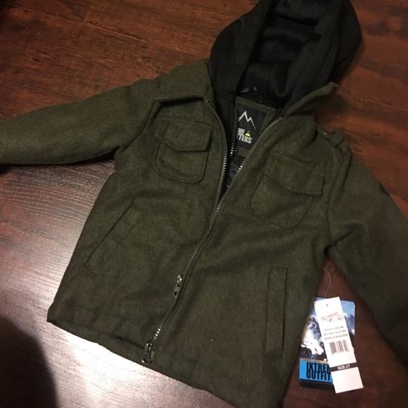 6ff53f36e sleek 679c2 d30d9 outfitter hooded puffer jacket toddler boys 2t 5t ...