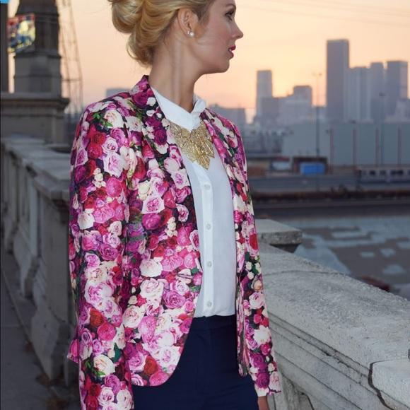 32c1962d kate spade Jackets & Blazers - Kate Spade Millie Rose blazer size 2