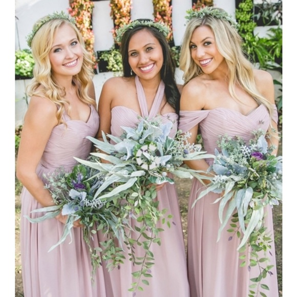 Latte Bridesmaid Dresses