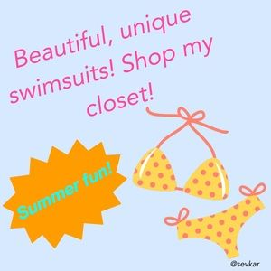 Other - ☀️👙Summer Fun Swimsuits! Shop my closet! 👙☀️