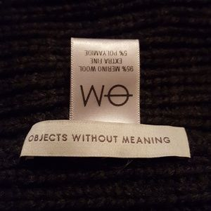 9e24ca62ae3 objects without meaning Accessories - Objects Without Meaning Merino Wool  Blend Beanie