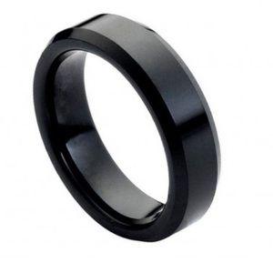 Other - 6mm black tungsten ring