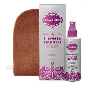 Flawless Darker (fakebake) Tanning Spray