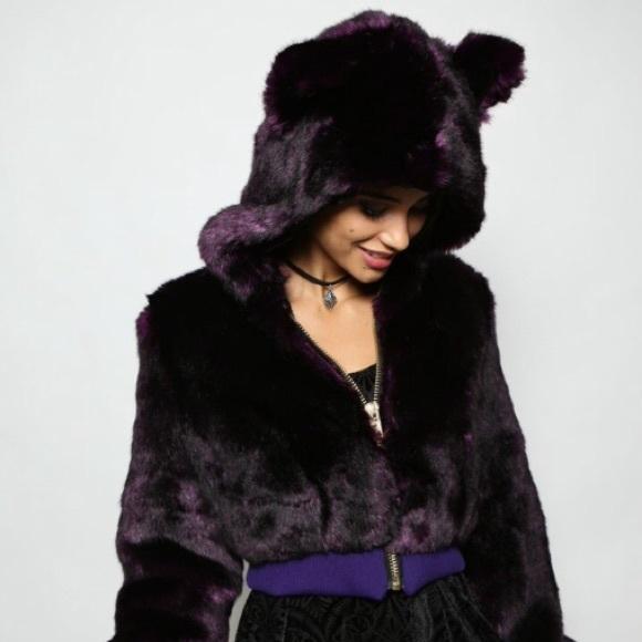 a4ef24689e74 SpiritHoods Jackets & Coats | Spirithood Midnight Wolf Cropped ...