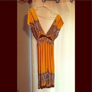 Medium silky dress