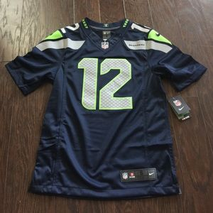 Nike 12 Fan Seattle Seahawks Vapor Limited Jersey