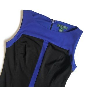 | R a l p h  L a u r e n |  Color block Dress for sale