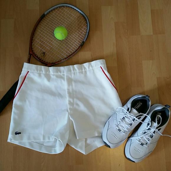 c1f60a79 VINTAGE 70's Chemise Lacoste Men's Tennis Shorts