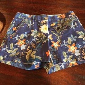 Land's End floral low rise shorts.
