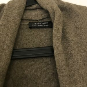 Pullover AVENUE FOCH 100% Cashmere Kaschmir
