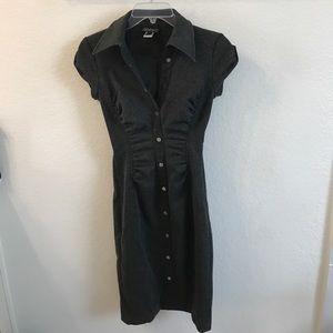 Grey body-con dress! Size 6.