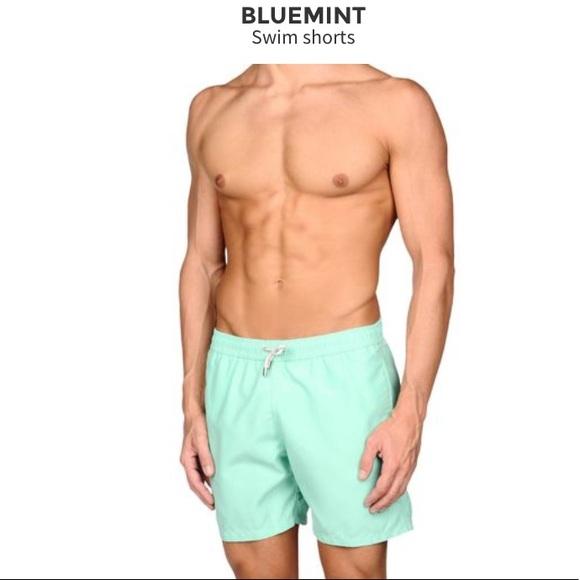 349728bcbfaf0 Bluemint Swim | Blue Mint Trunks | Poshmark