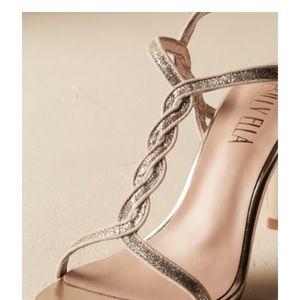 Billy Ella bridal shoes. Vegan.