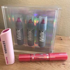 Other - Milk Makeup / Sephora Lip Bundle