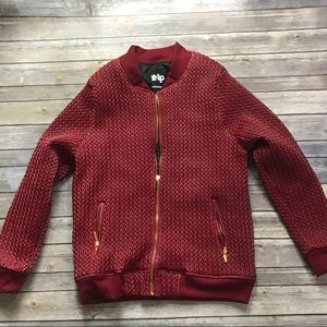 Imperious Jackets Coats Mens Quilted Jacket Medium Burgundy