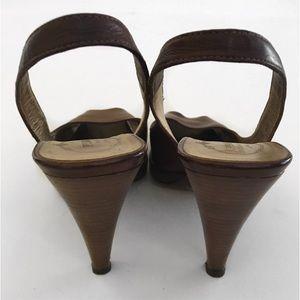 Prada Schuhes   Braun Slingback Heels Sz 39  9  39  Poshmark 794d5c