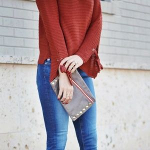 Chicwish Sweaters - 'Cozy Weekend' knit top bell sleeve sweater