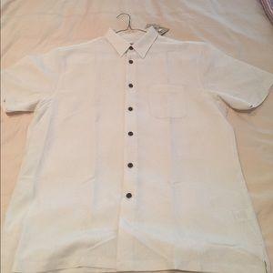 Woody's Retro Lounge men's button down shirt