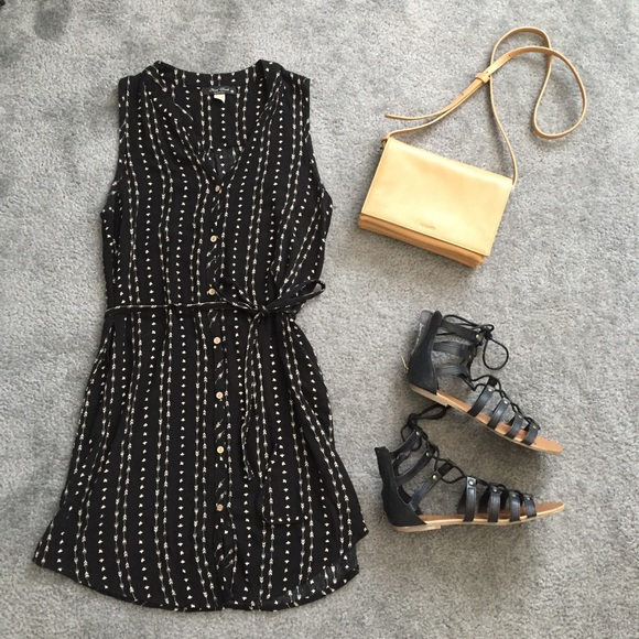 Nordstrom Dresses Black Tie Dress Poshmark