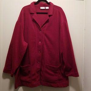 Fashion Bug Fleece Jacket Size 30/32