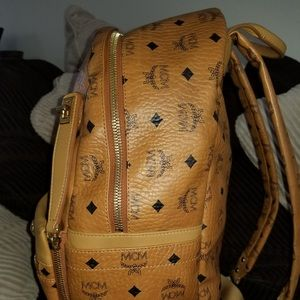 MCM Bags - 100% Authentic MCM medium dual stark backpack 85a8b29af0661