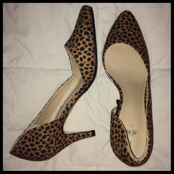Cheetah Kitten Heels