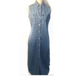 Vintage Ralph Lauren Denim Jean halter dress