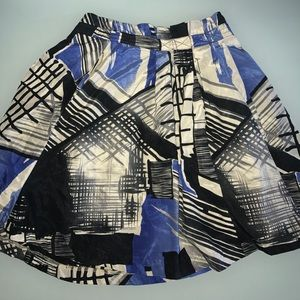 Dresses & Skirts - Abstract Patterned skirt