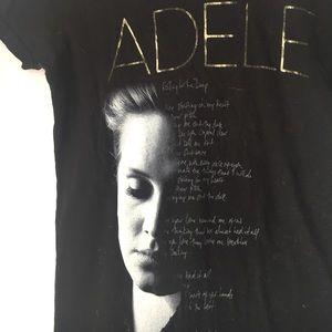 🎀Black Adele T-Shirt Size XS