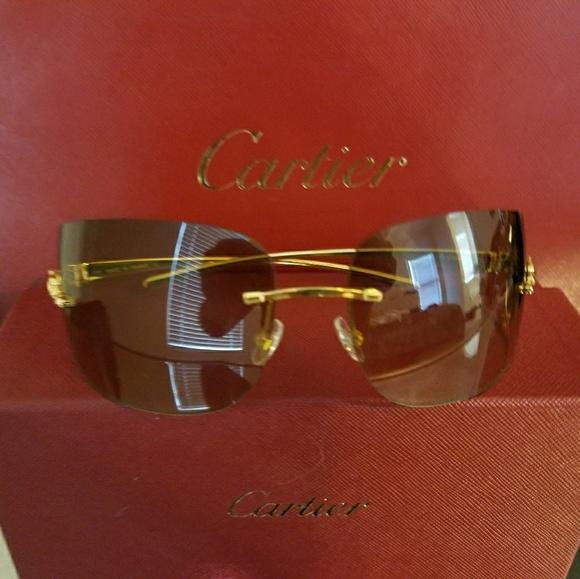6259c67a04a Cartier Accessories - Like New Cartier sunglasses