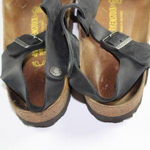 475d2871a36 Birkenstock Shoes - Birkenstock Kairo Leather Sandals Men 8 Women 10