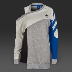 f78fa1dfc0854d adidas Tops - Adidas originals asymmetrical cold shoulder top