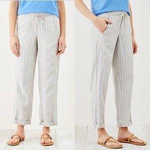 CCO🎀 NWOT J.jill Linen Drawstring Waist Pants