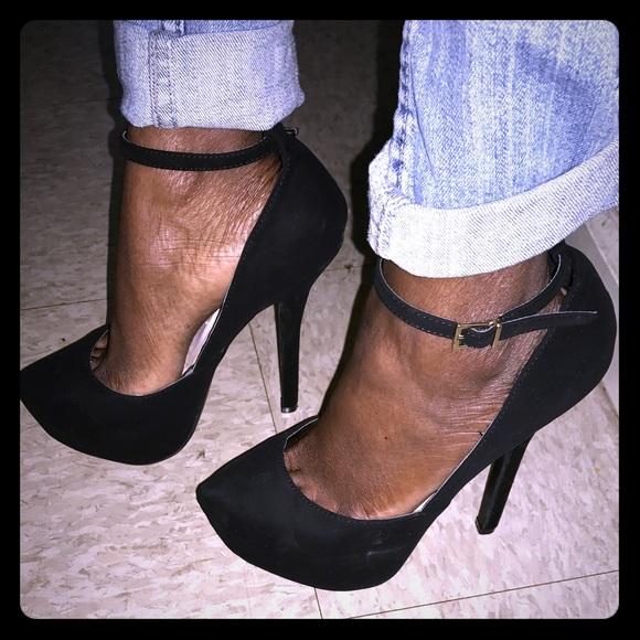 f338244f41d8 Black Platform Herls. M 5991fbc3680278f4a6166fc0. Other Shoes you may like.  Windsor tan sandal platform with wooden heel