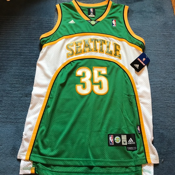 1f72d431e1c adidas Shirts   Kevin Durant Seattle Super Sonics Jersey   Poshmark
