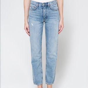 Grlfrnd Helena High-Rise Straight Jean size 24