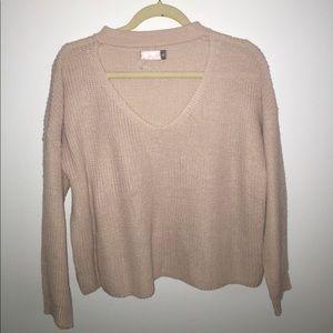 Choker sweater from LF