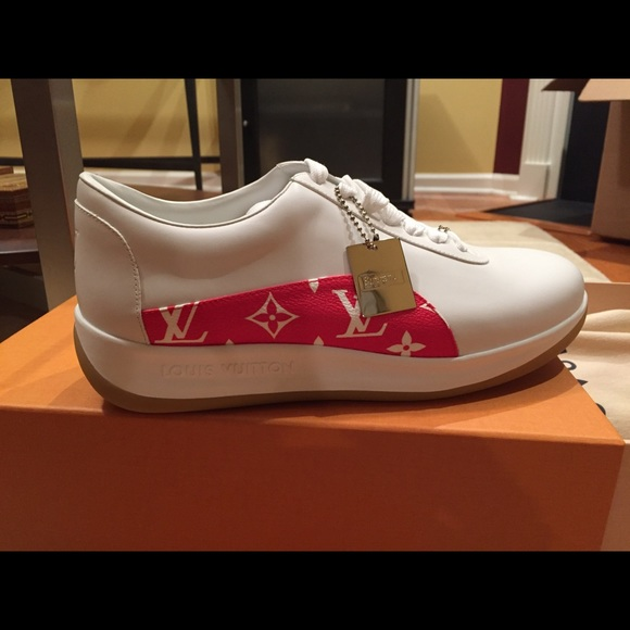 Louis Vuitton Shoes Nwt X Supreme Sneakers Poshmark
