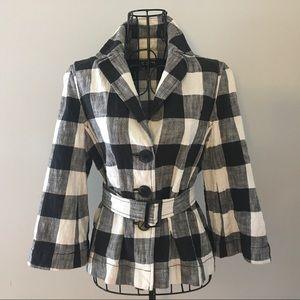 Jones NY Collection Plaid Jacket
