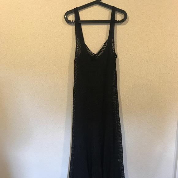 Free People Dresses - NWT Free People black lace maxi dress
