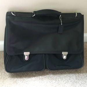 Coach briefcase/laptop bag