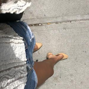 Zara women's sling back heels