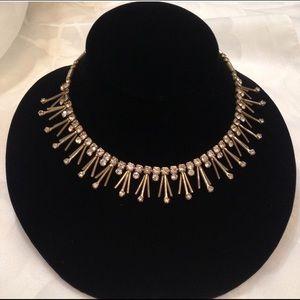 Vintage Sarah Coventry Modernist Spiky Necklace