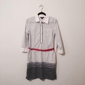 TOMMY HILFIGER Stripe Buckle Dress