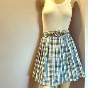 Vintage Free people plaid skirt
