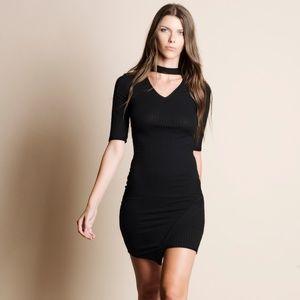 Choker Mini Dress